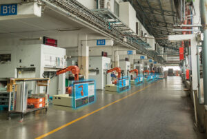 Factory with Industry 4.0 technology